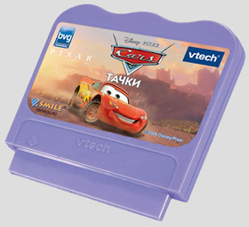 Картридж «Тачки» для ТВ приставки Vtech